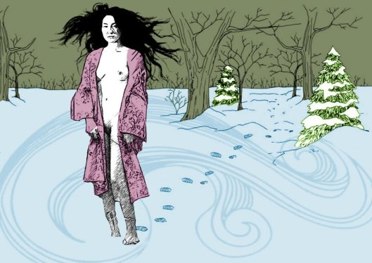 yuki-onna, the snow woman