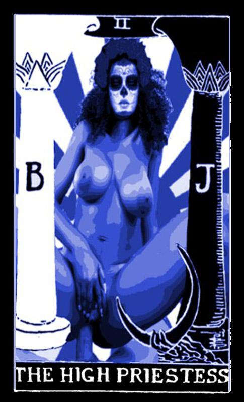 la magia sexual tarot: high priestess