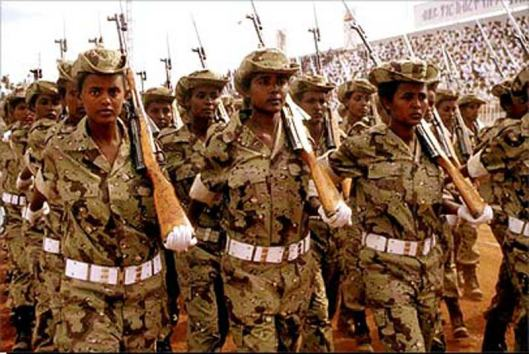 modern day west african female soldiers