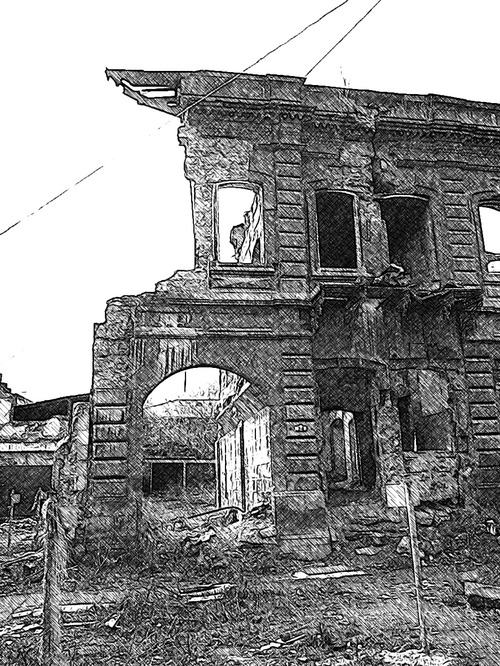Gyumri building