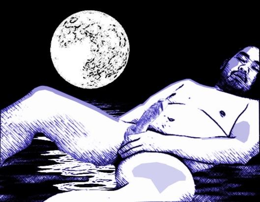 li bai dreams of the moon