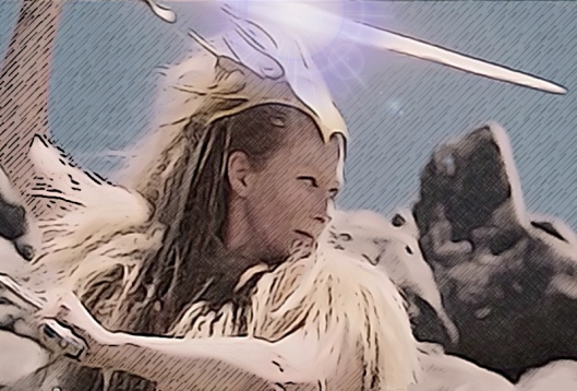 the divine Tilda Swinton as Jadis, the White Witch