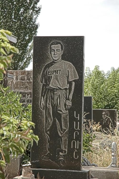 cemetery, Gyumri, Armenia