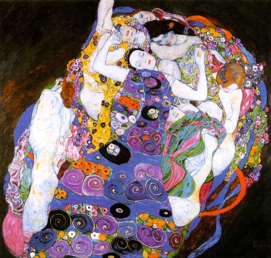 [note: Klimt's les vierges]