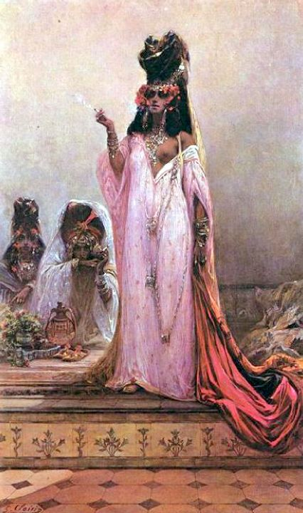 painting by Georges Clairin