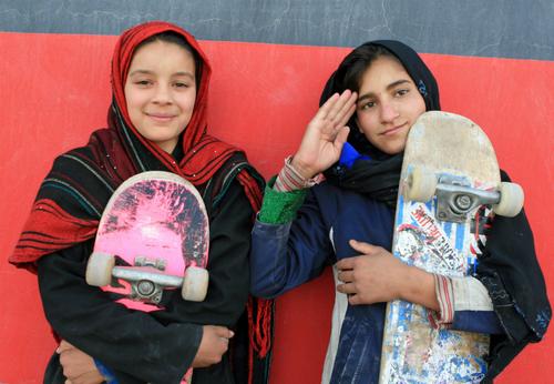 Skateboarding in Kabul2