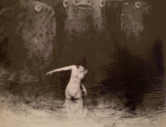[note: Alfred Kubin's The Swamp, 1900]