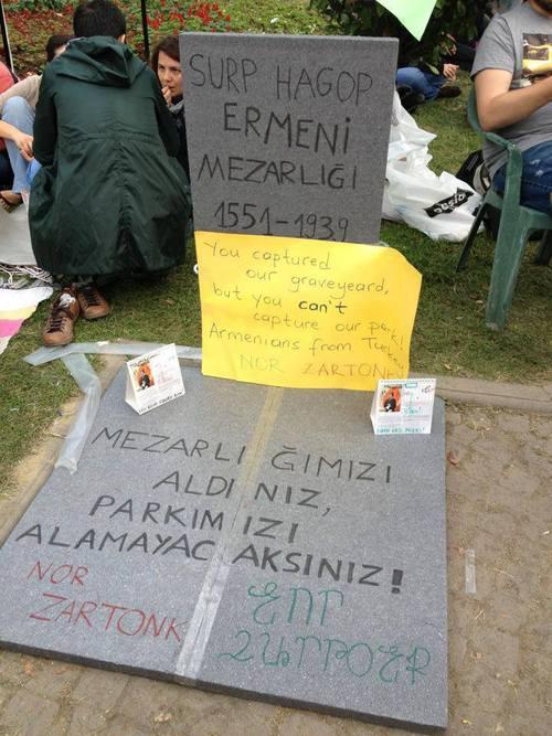armenian graveyard
