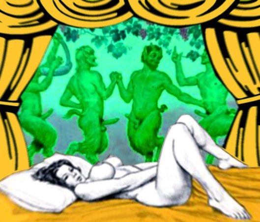 Fauna dreams of satyrs