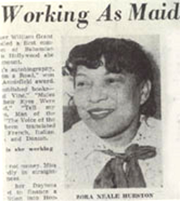 the life and works of zora neale hurston Women, violence and testimony in the works of zora neale hurston new york: peter lang zora the life of zora neale hurston new york: clarion save citation.